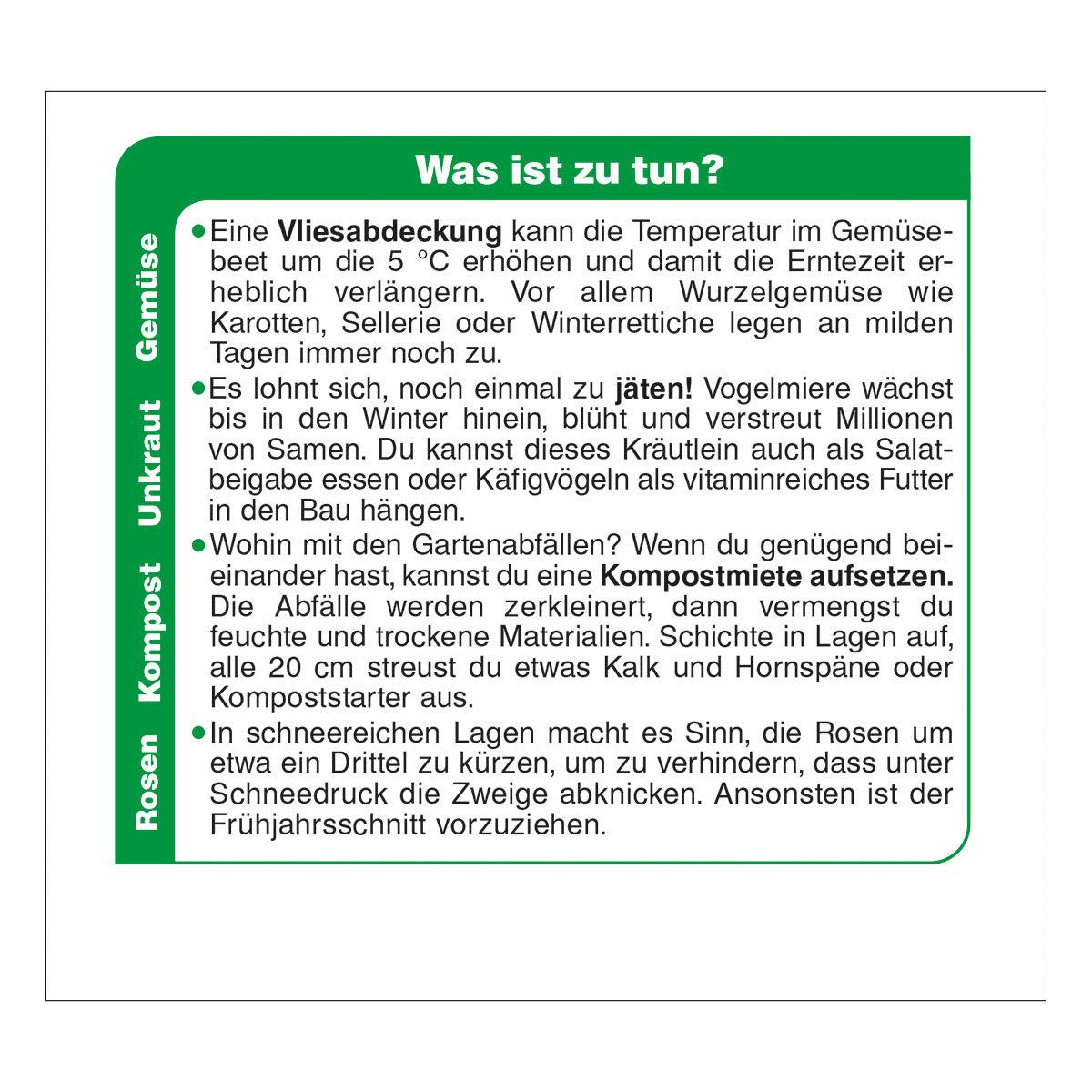 Abreißkalender Der große Grüne Wink®   #5