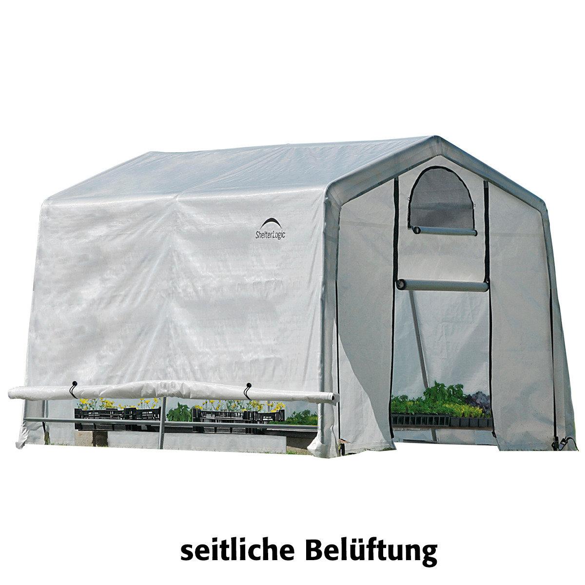 ShelterLogic Folien-Gewächshaus 9m² inkl. Sturmanker | #6