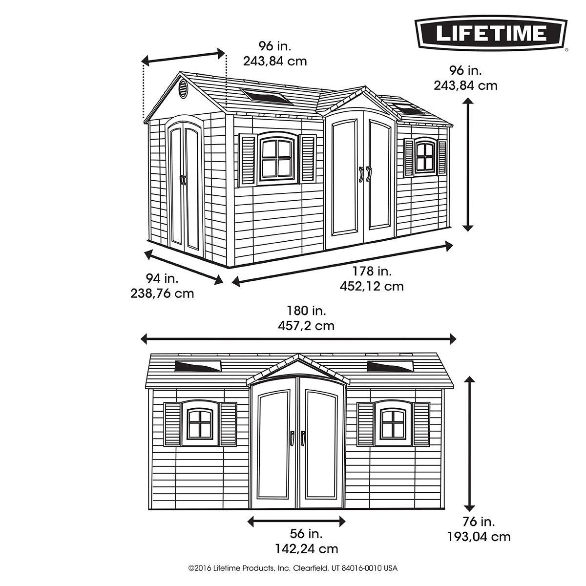 Lifetime Gerätehaus Residenz | #6