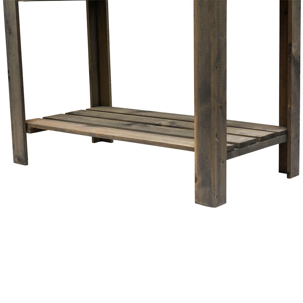 Balkonhochbeet Easy, grau, 80x40x78 cm | #6