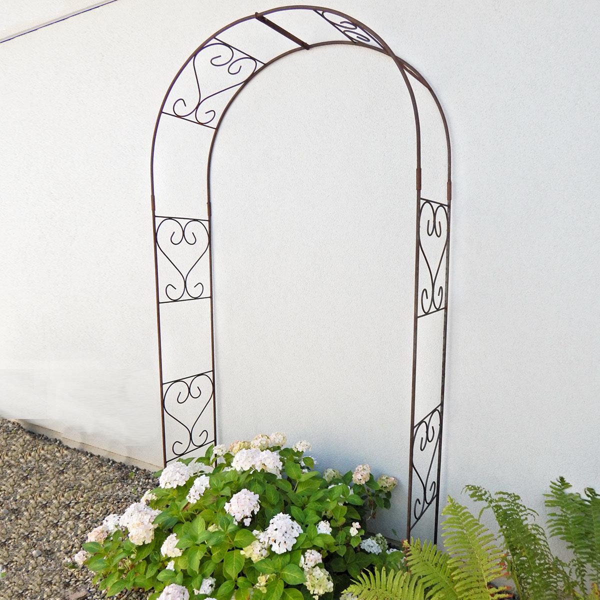 Rosenbogen rund, 230 x 120 cm | #6