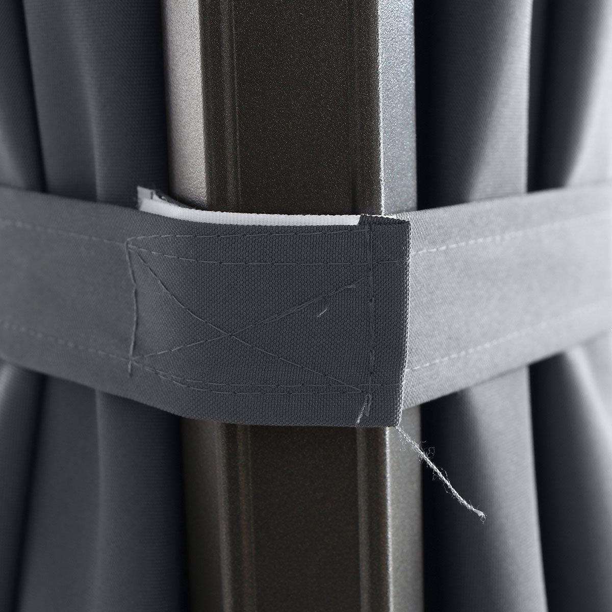 Ampelschirm RondoSunset, 350 cm, anthrazit | #6