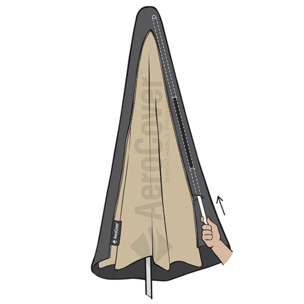 Schutzhülle AeroCover für Stockschirme bis Ø 4 m   #6