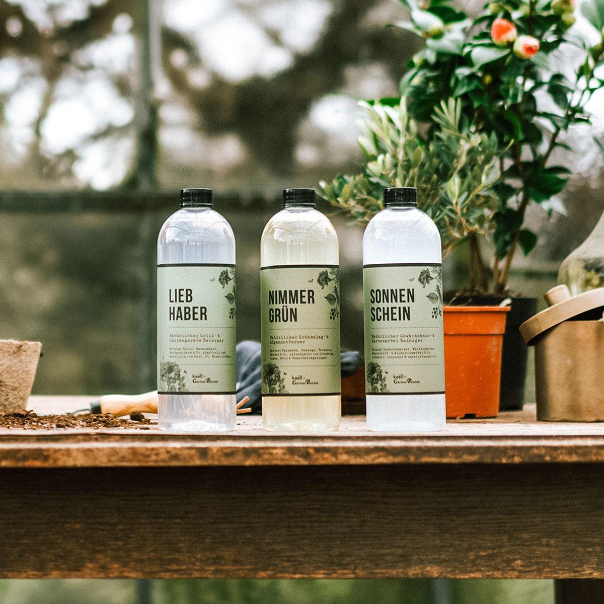 Natürliches Gewächshaus- und Gartenmöbelreiniger-Fertiggemisch Sonnenschein, 750 ml   #6