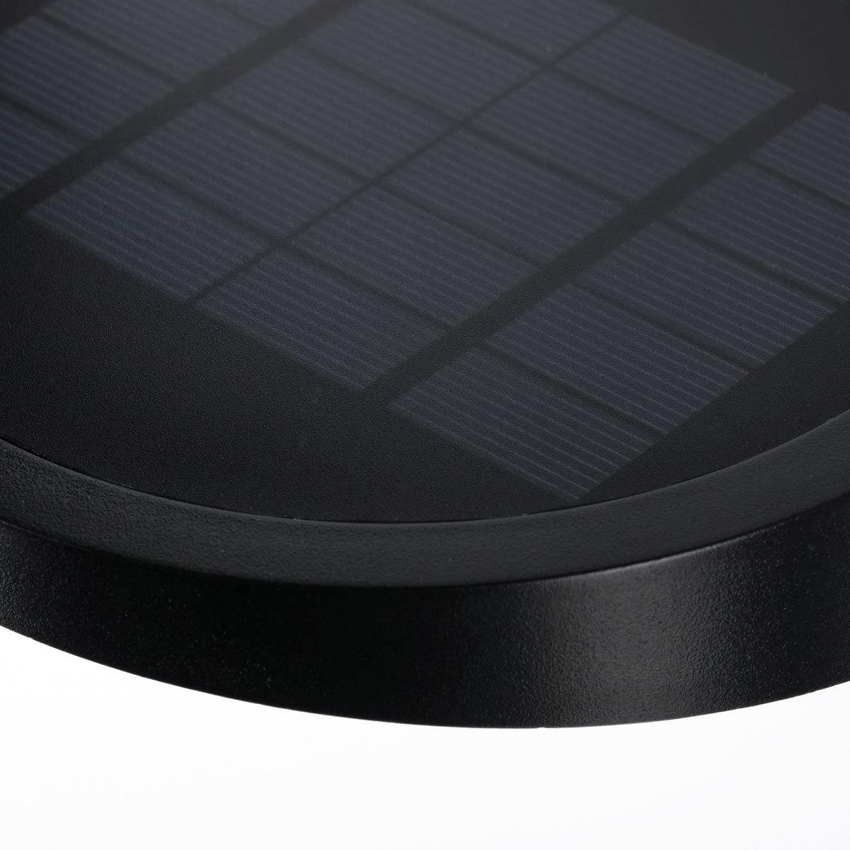 Outdoor Solar Wandleuchte Ryse, 3000K 145lm IP44 Bewegungsmelder, anthrazit | #6