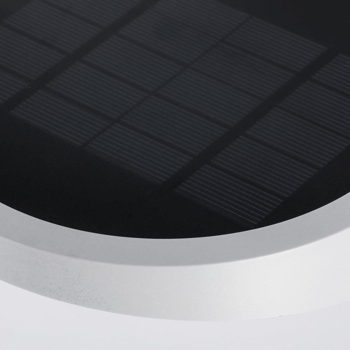 Outdoor Solar Wandleuchte Ryse, 3000K 145lm IP44 Bewegungsmelder, weiß | #6