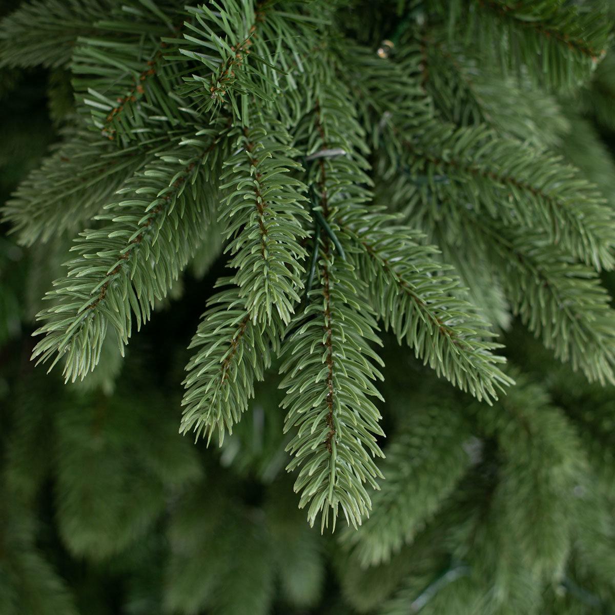 Künstlicher Weihnachtsbaum Kiefer mit LED-Beleuchtung, 150 cm | #6