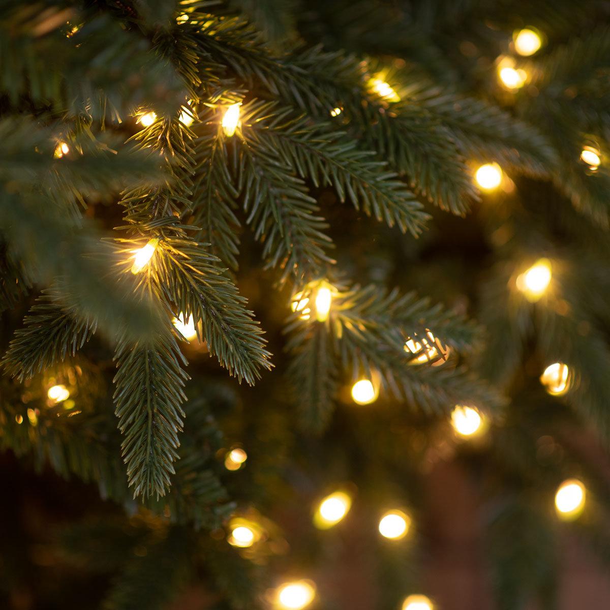 Künstlicher Weihnachtsbaum Fichte, mit LED-Beleuchtung, 150 cm | #6
