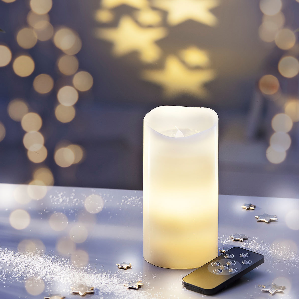 LED-Kerze Sternenlicht | #6