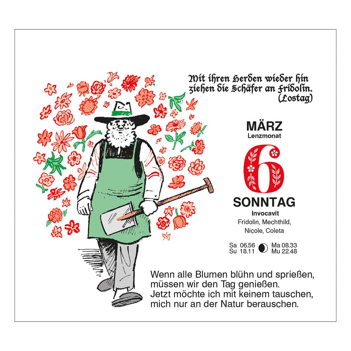 Tages-Garten-Kalender Der Grüne Wink® | #6