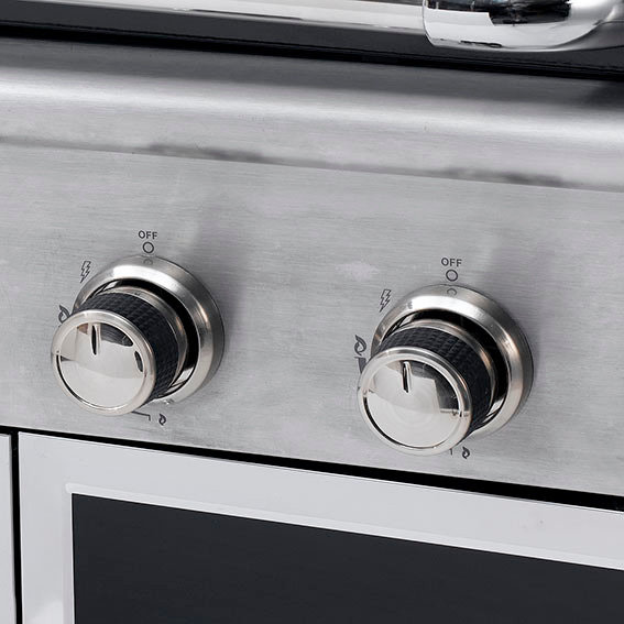 Gasgrill Manhatten, 4-Brenner, Seitenkocher, Horizontalbrenner | #7