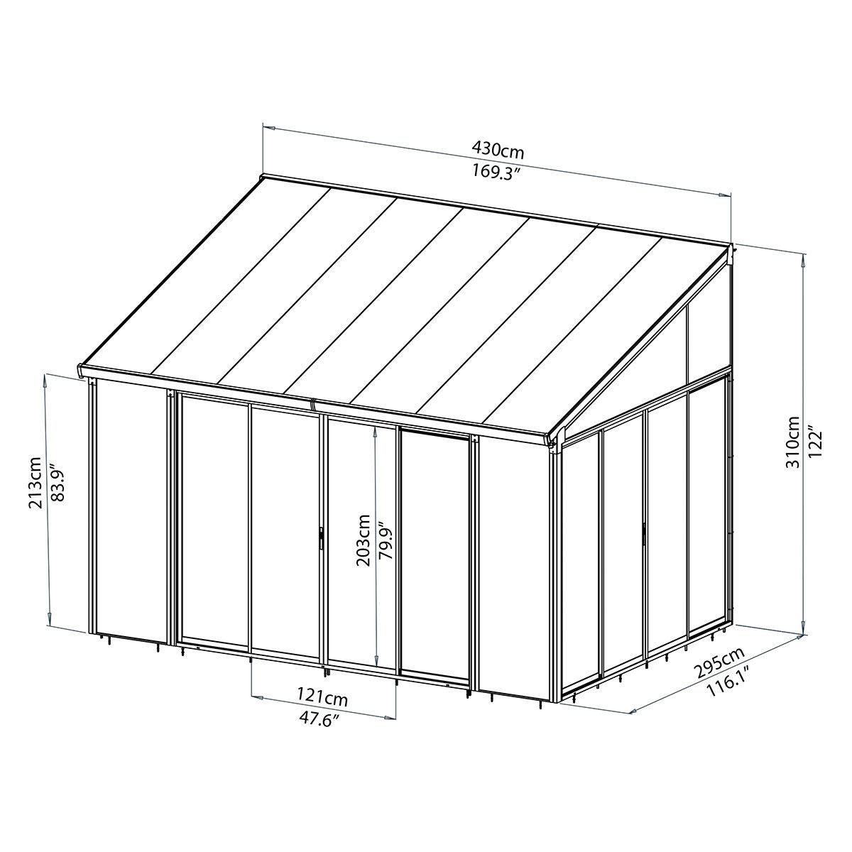 wintergarten san remo wei online kaufen bei g rtner p tschke. Black Bedroom Furniture Sets. Home Design Ideas