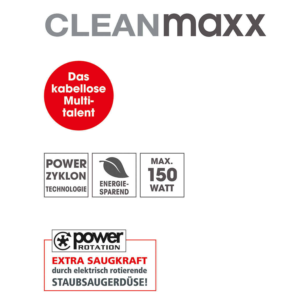 CLEANmaxx Akku-Zyklonstaubsauger | #7