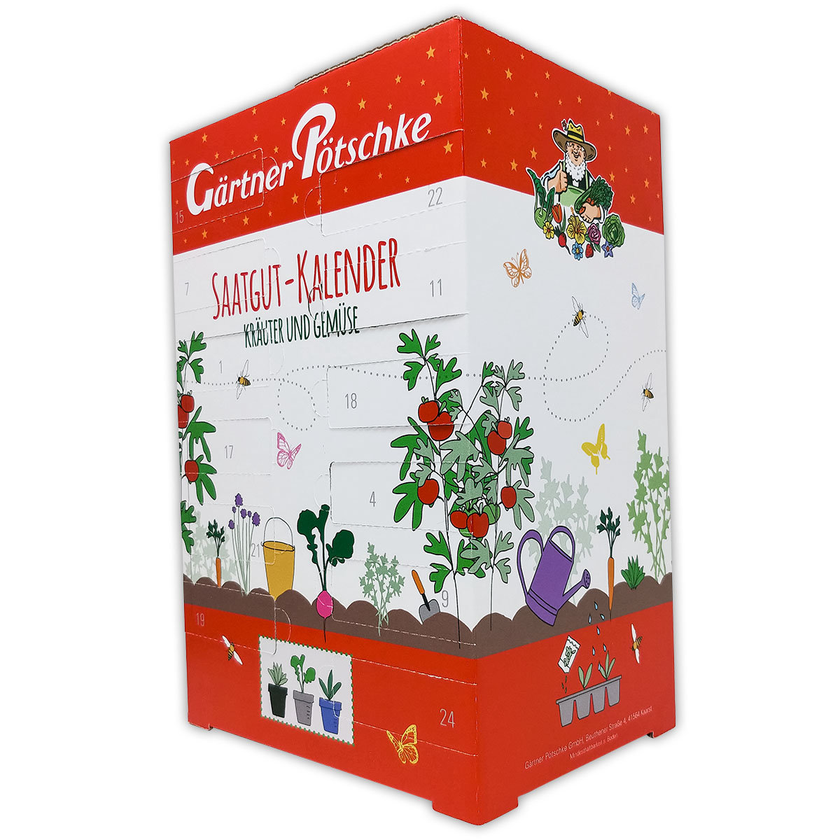 Saatgut-Adventskalender Kräuter & Gemüse | #7