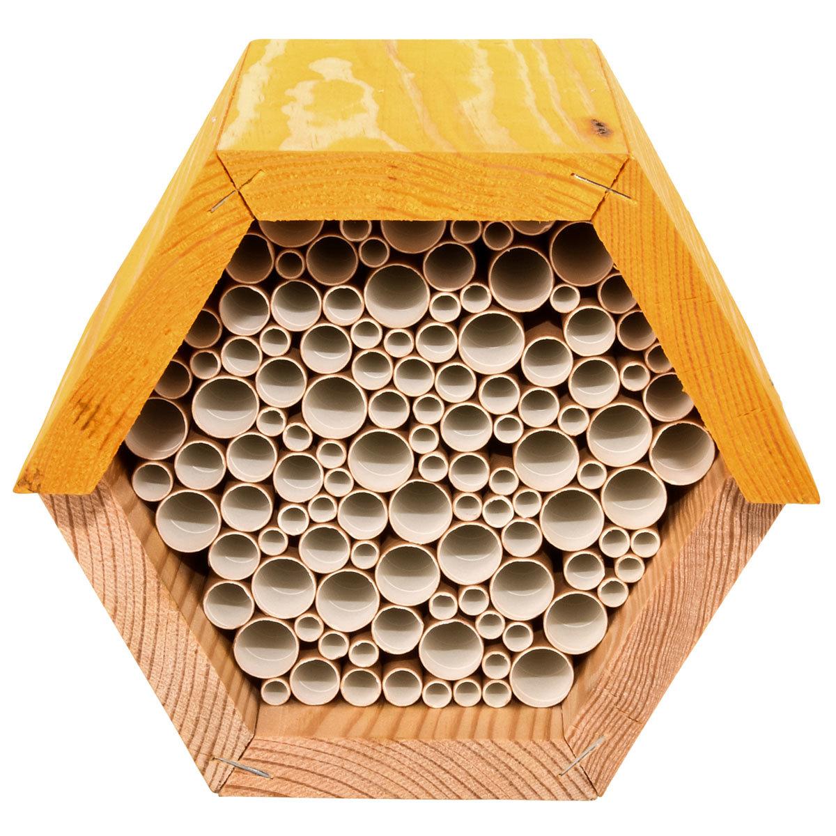 Bienenhaus, sechseckig, gelb   #7