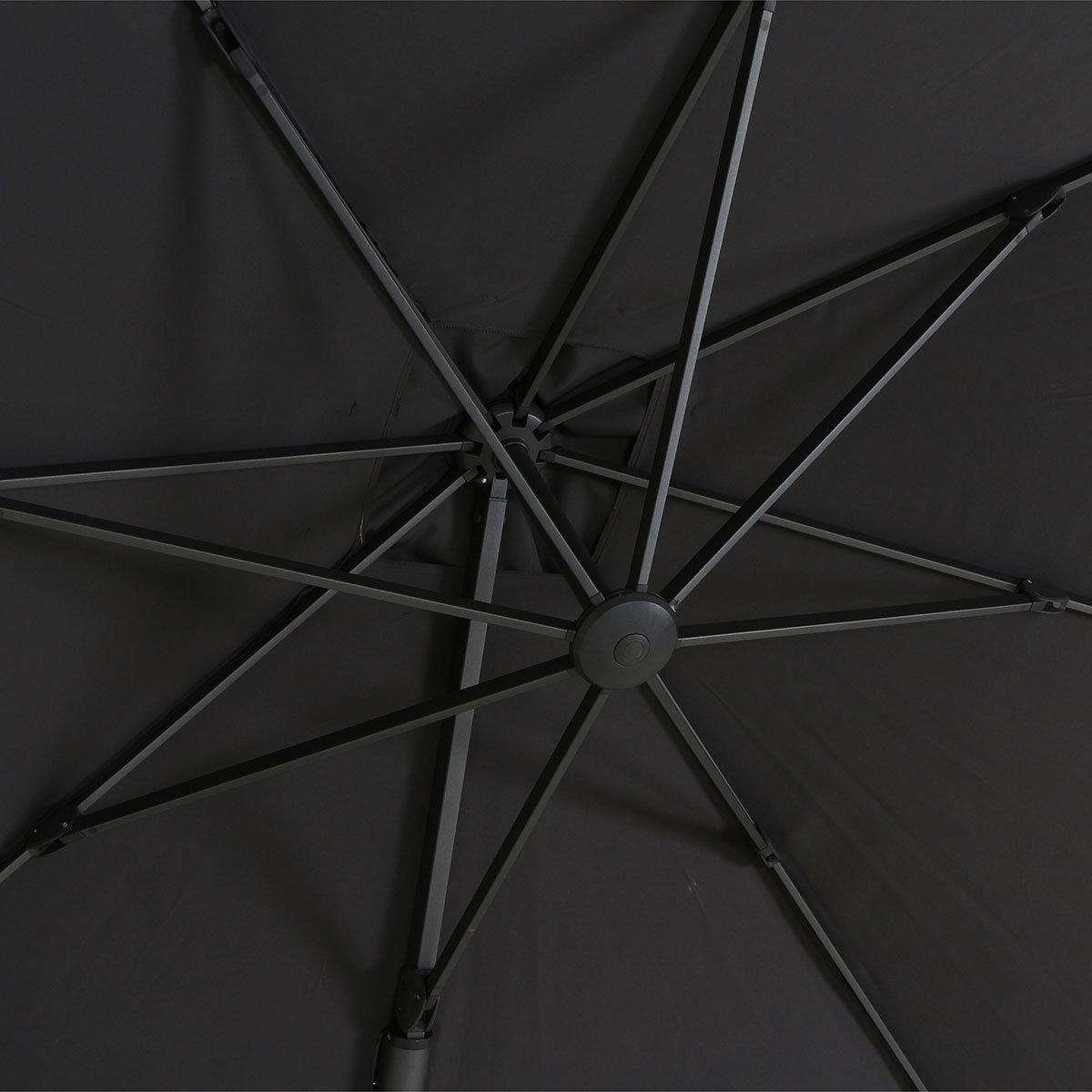 Ampelschirm California, 300x300 cm, anthrazit | #7