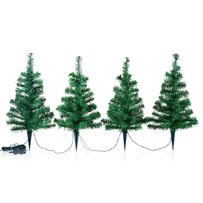 Lichter-Weihnachtsbäumchen, 4er Set | #7