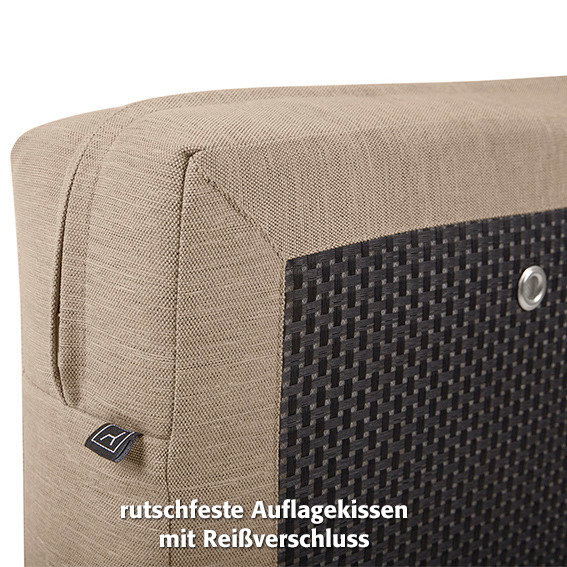 Outdoor Sessel Sunflower mit Armlehnen, beige | #7