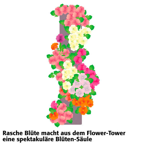 Flower Tower hängend | #7