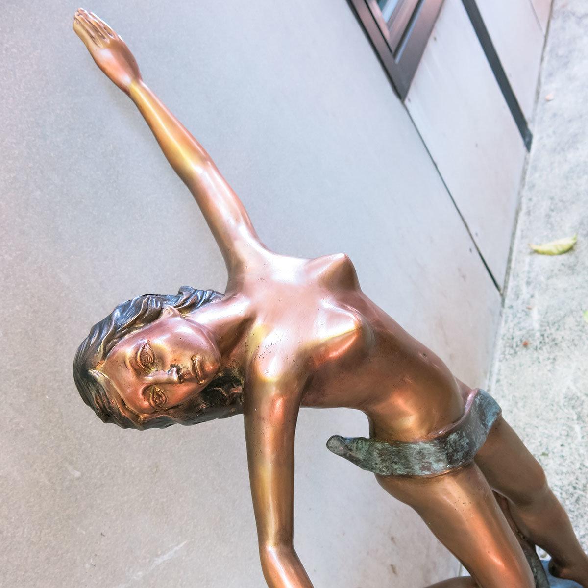Bronzefigur Primadonna | #8