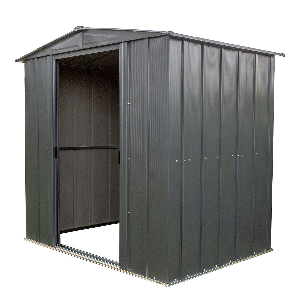 Metallgerätehaus, rostfrei, verzinkter Stahl, ca. 151 x 190 x 194 cm   #8