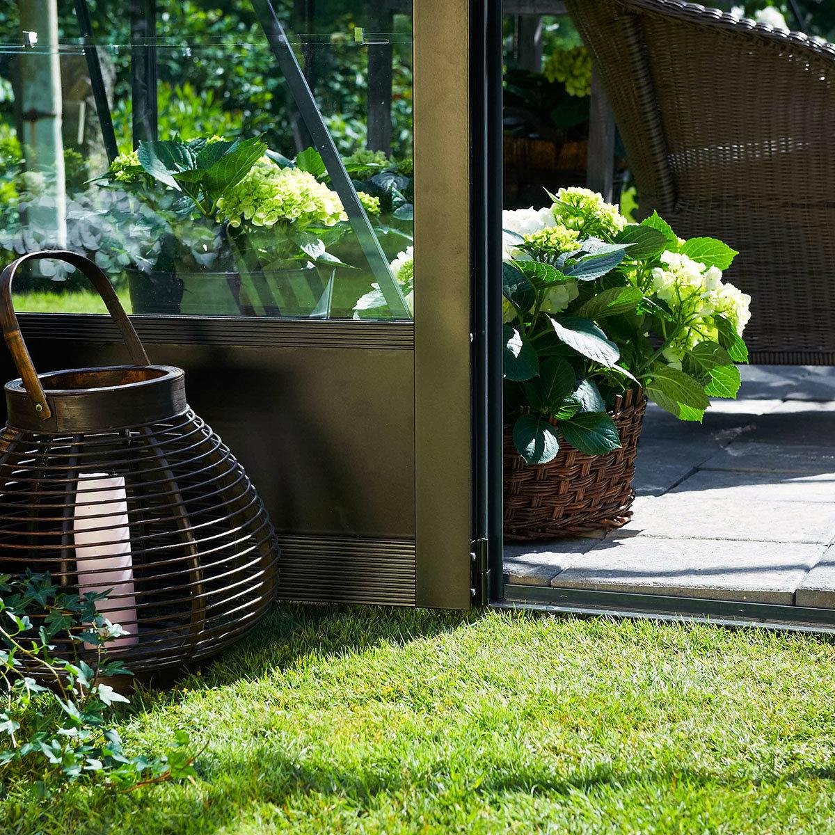 Gewächshaus Premium 13,0 m², silber | #8
