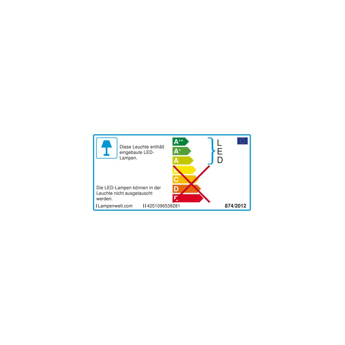 LED-Solar-Außenwandleuchte Tyson, 11,5x8x11,5 cm, Edelstahl, silber | #8