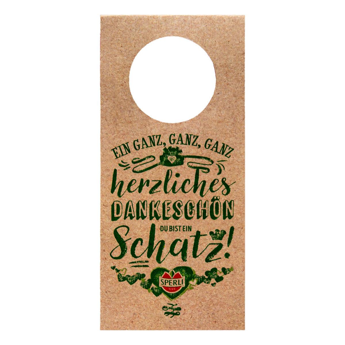 Geschenkanhänger für Flaschen - 3 Stück | #8
