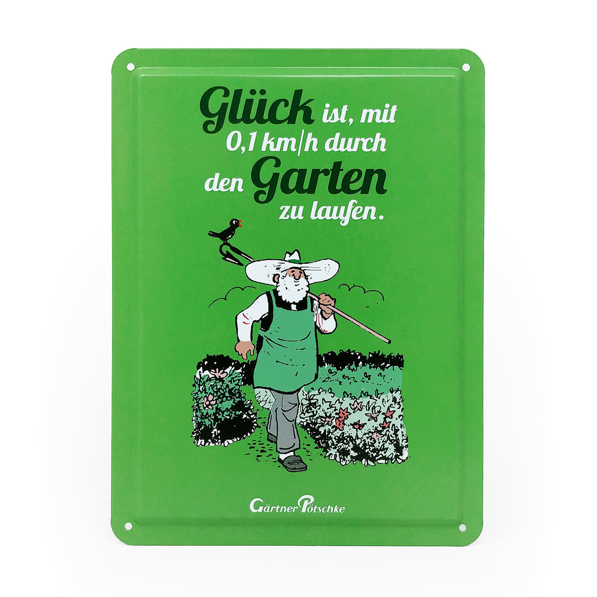Gartenkalender mit 2 Blechschildern | #8