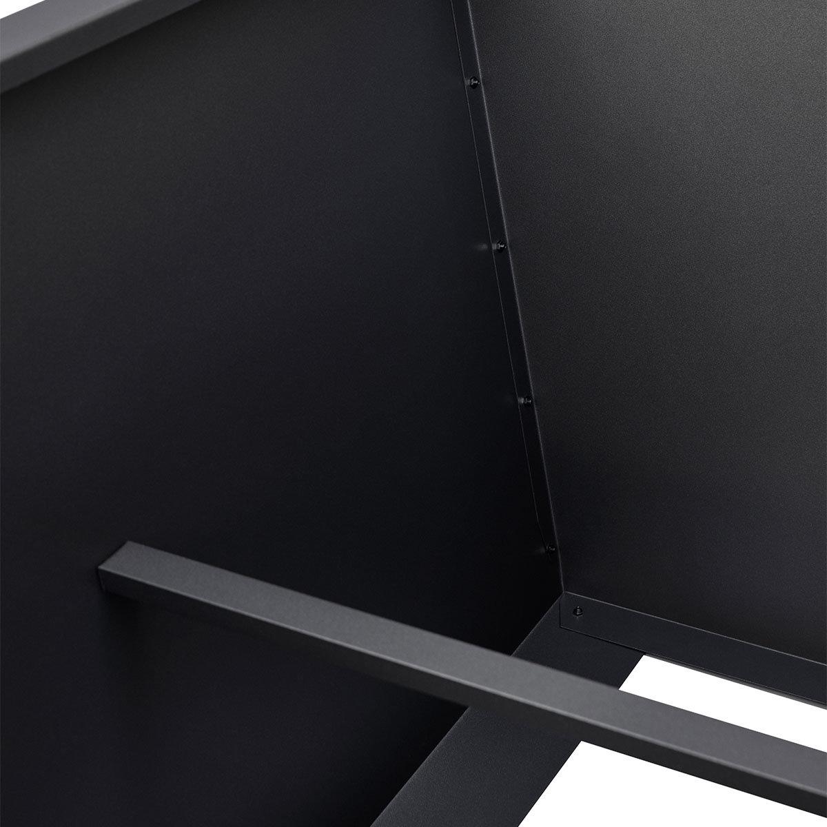 Hochbeet Valenta, Aluminium, anthrazit, ca. 150 cm | #8