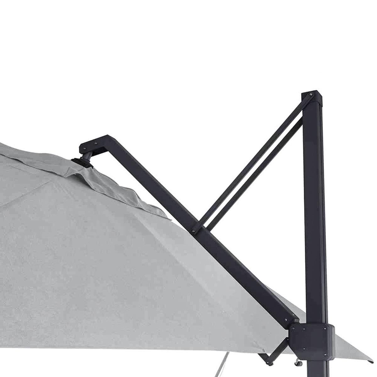 Sonnenschirm Stratos 3x4m, grau   #8