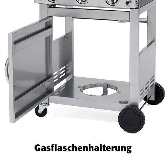 Gasgrill-Wagen Calverton, 3-Brenner mit Unterschrank | #9