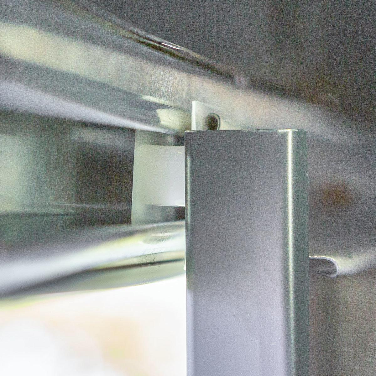 Metallgerätehaus, rostfrei, verzinkter Stahl, ca. 194 x 188 x 201 cm | #9
