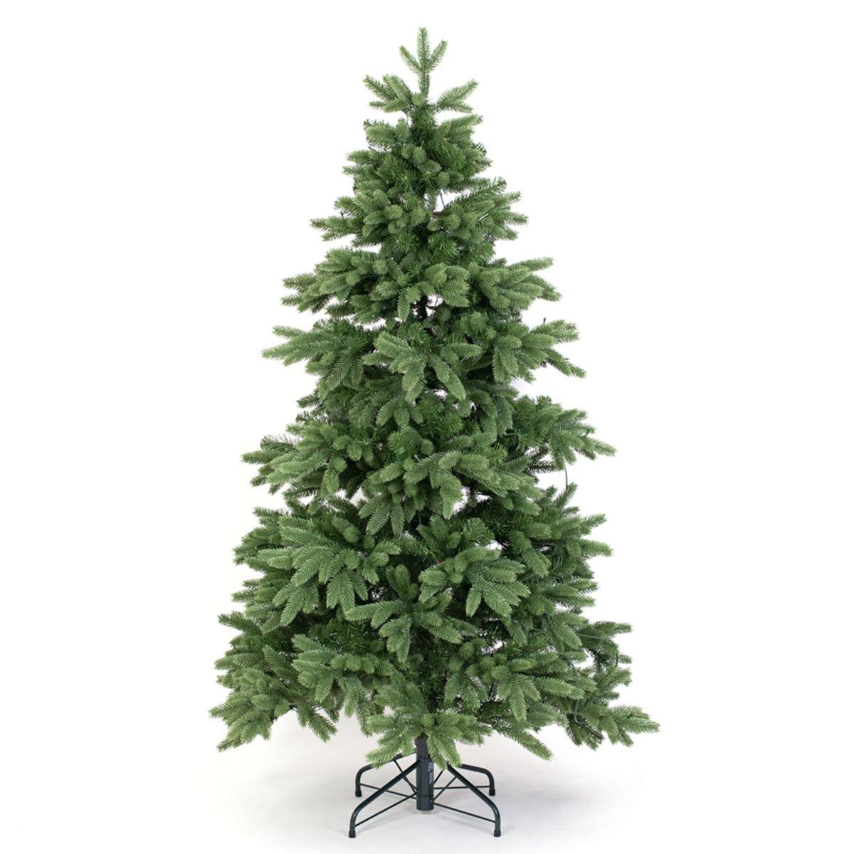Künstlicher Weihnachtsbaum Fichte, mit LED-Beleuchtung, 150 cm | #9
