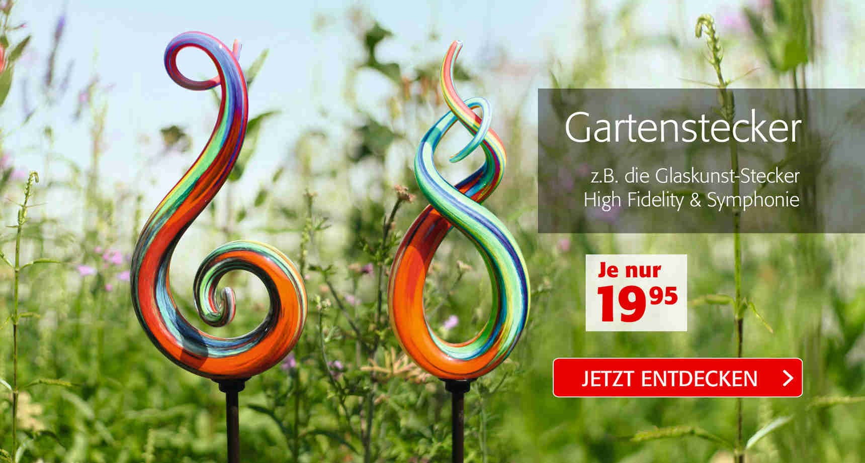 +++ Gartenstecker +++ - 3