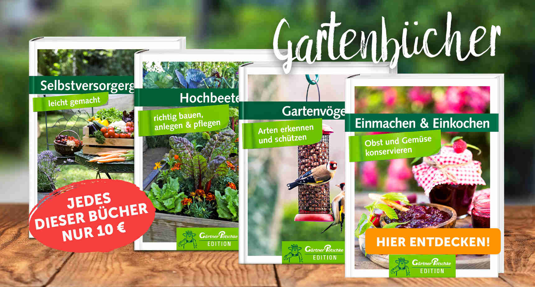 +++ (3) Gartenbücher +++ - 3