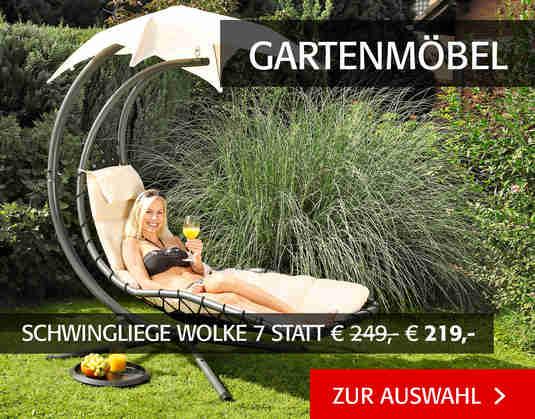 + (4) Gartenmöbel +
