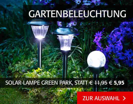 + (4) Gartenbeleuchtung +