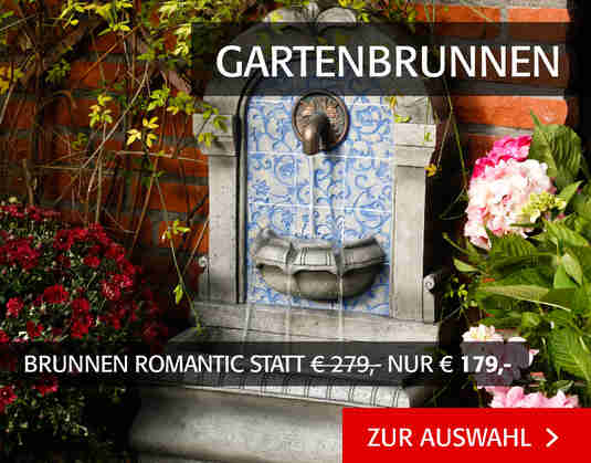 + (4) Gartenbrunnen +