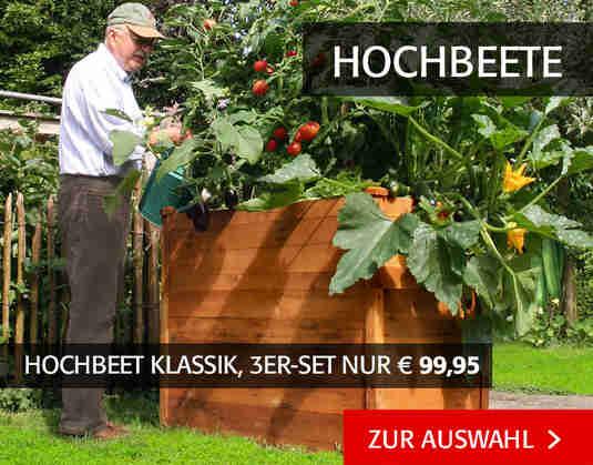 + (4) Hochbeete +