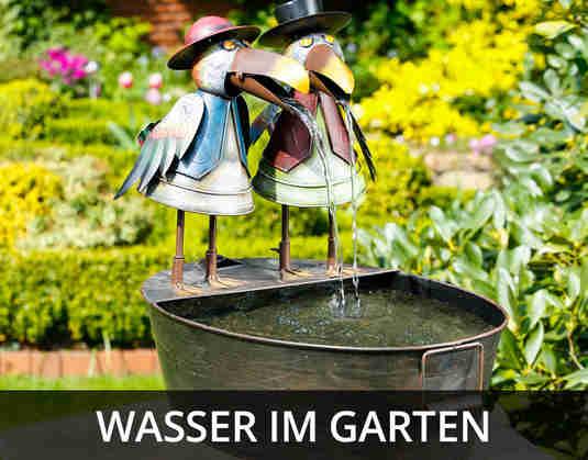+ (2) Wasser im Garten +