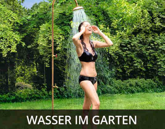 + (1) Wasser im Garten +