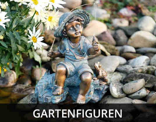 + (3) Gartenfiguren +