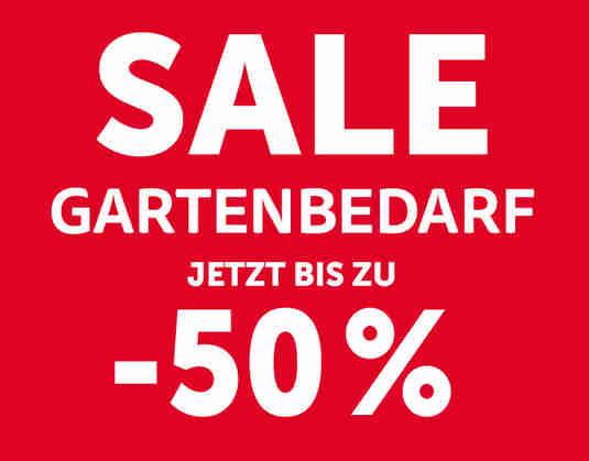 + Gartenbedarf SALE +