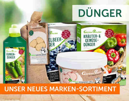 + Dünger +