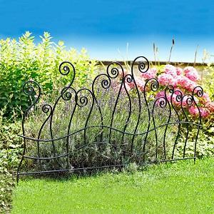 Gartenzaun Schmiedeeisen