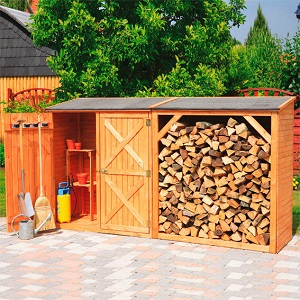 Holz-Gerätehaus