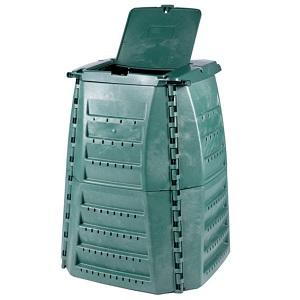 Grüner Kunststoff-Komposter